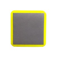 DIAMOND HAND POLISHING PAD DIAFACE® 75X75 YELLOW GRIT 400M