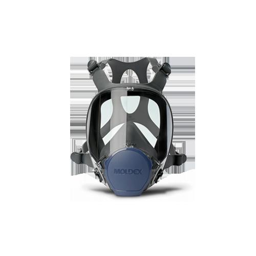 MASCHERA PIENO FACCIALE MOLDEX SERIE 9000 TAGLIA M Con sistema di raccordo filtri EasyLock®