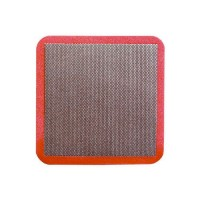 DIAMOND HAND POLISHING PAD DIAFACE® 75X75 RED GRIT 200M