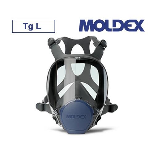 MASCHERA PIENO FACCIALE MOLDEX SERIE 9000 TAGLIA L Con sistema di raccordo filtri EasyLock®