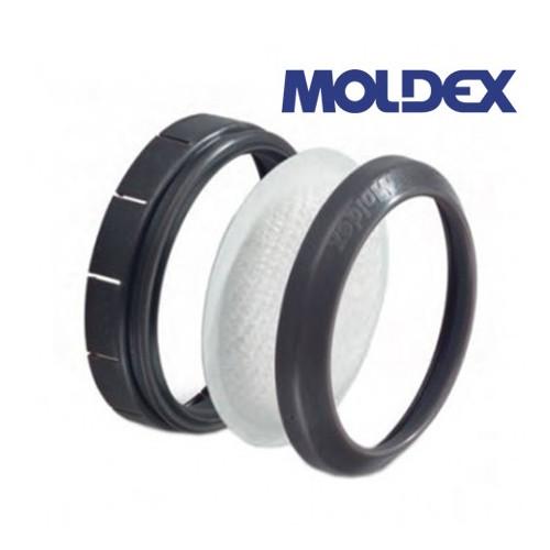 SUPPORTO MOLDEX 8090 PER MONTARE IL FILTRO PARTICOLATI SUL FILTRO GAS (PRE-FILTRO)