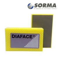DIAMOND HAND POLISHING PAD DIAFACE® 90X55 YELLOW