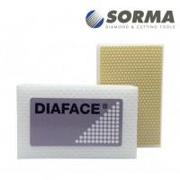 DIAMOND HAND POLISHING PAD DIAFACE® 90X55 WHITE RESIN