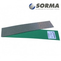 DIAMOND POLISHING ABRASIVE SHEET DIAFACE® 230x50 CANVAS GREEN