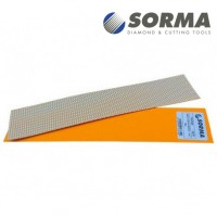DIAMOND POLISHING ABRASIVE SHEET DIAFACE® 230x50 CANVAS ORANGE