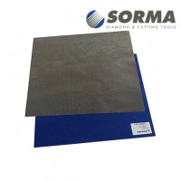 DIAMOND POLISHING SHEET DIAFACE® 230x280 CV BLUE GRIT 1000M (ELECTROPLATED METAL BOND)