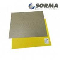 DIAMOND POLISHING ABRASIVE SHEET DIAFACE® 230x280 CANVAS YELLOW