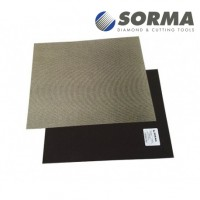 DIAMOND POLISHING ABRASIVE SHEET DIAFACE® 230x280 CANVAS BLACK