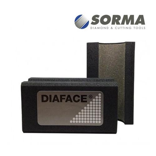 TAMPONE DIAMANTATO SAGOMATO DIAFACE® V30 GRANA 120M