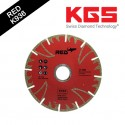 5 INCH ELECTROPLATED DRY DIAMOND BLADE RED™ K936 BORE 22,23 FOR FAST AND WITHOUT CHIPPING CUTTING ON ALL MARBLES