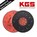 7 INCH KGS® SEMI-FLEXIBLE ABRASIVE DISCS FOR MANUAL GRINDING APPLICATIONS TO USE on ALL MATERIALS