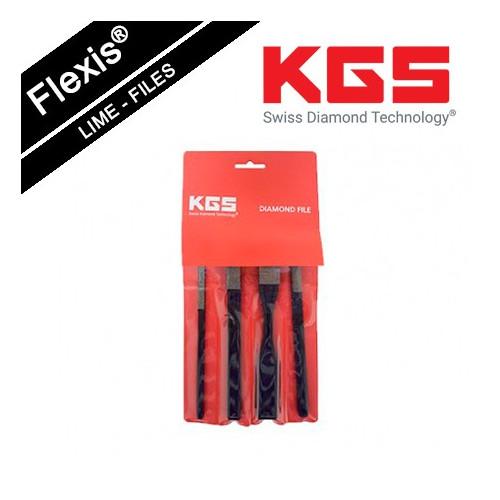KGS FLEXIS® DIAMOND FILE TOOL SET