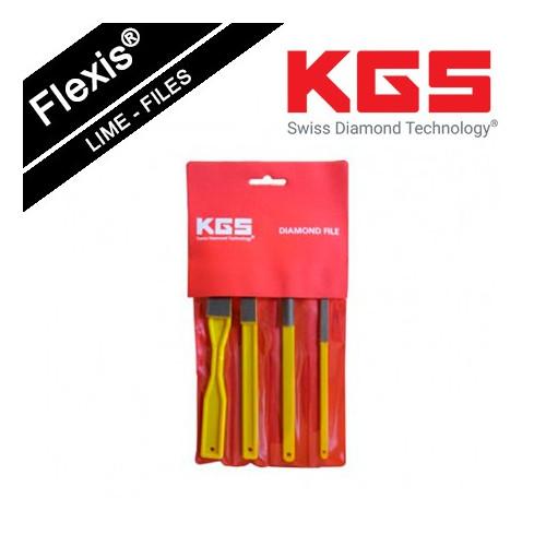 KGS FLEXIS® DIAMOND FILE TOOL SET GRIT 400