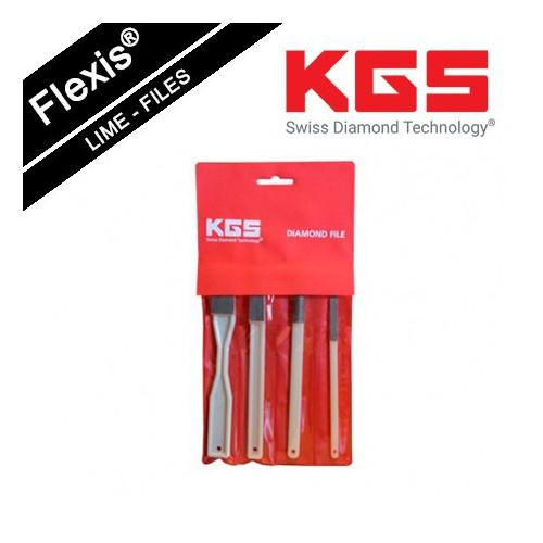 KGS FLEXIS® DIAMOND FILE TOOL SET GRIT 800