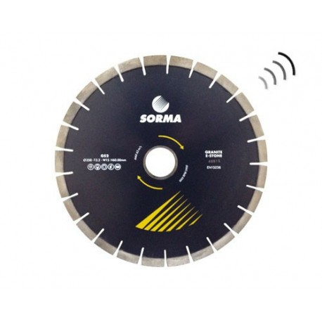 GS2 X15 H60/50 SILENT DIAMOND CUTTING BLADE GRANITE - ENGINEERED STONE