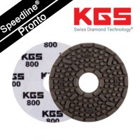 Speedline® Pronto DIAMOND POLISHING PAD 4''/100mm QRS WI-800 for WET POLISHING GRANITE AND ENGINEERED STONE