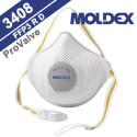 REUSABLE FFP MASK MOLDEX AIR PLUS 3408 FFP3 R D Washable and hygienic ProValve-Version EN 149:2001+A1:2009