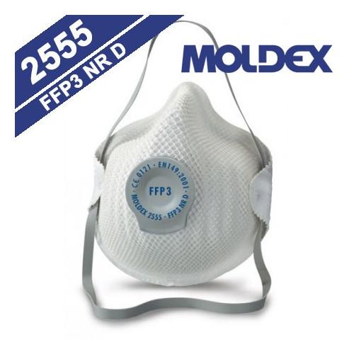 CONFEZIONE 20 MASCHERINE MOLDEX 2555 FFP3 NR D
