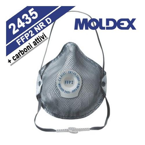 CONFEZIONE 10 MASCHERE MOLDEX 2435