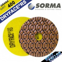 DRY DIAMOND RESIN POLISHING PAD DRYFACE® RS 100 H20 QRS YELLOW