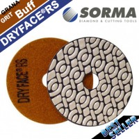 DRY DIAMOND RESIN POLISHING PAD DRYFACE® RS 100 H20 QRS BUFF