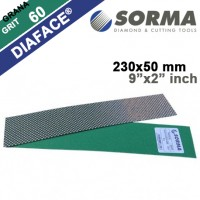 DIAMOND POLISHING ABRASIVE SHEET DIAFACE® 230x50 CANVAS GREEN