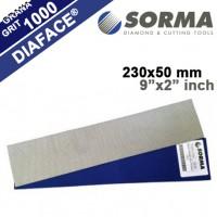 DIAMOND POLISHING SHEET DIAFACE® 230x50 CV BLUE GRIT 1000M (METAL BOND)