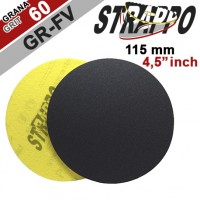 "DRY SANDING DISCS ""STRAPPO"" 4,5''/GR-FV 60 QRS for MARBLE, NATURAL STONE, LIMESTONE, BRICK, CONCRETE"
