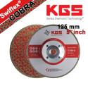 5 INCH DRY CUTTING / GRINDING DIAMOND BLADE Swiflex® COBRA M14 FLANGE FOR MARBLE, NATURAL STONE , ENGINEERED STONE, CERAMIC