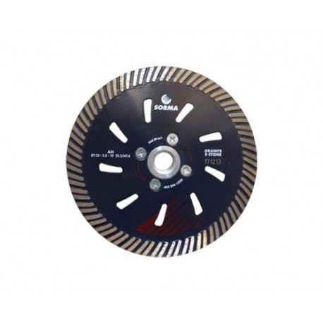 AH 125 DRY DIAMOND CUTTING BLADE FOR ANGLE GRINDERS - CUTTING GRANITE ENGINEERED STONE - LONG LIFE - CUTTING SPEED