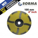 DIAMOND CUP WHEEL RESIN FILLED 4 INCH M14 GRIT 60 FOR UNIVERSAL USE