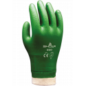SHOWA PVC GLOVES WITH SPECIAL PVC-DIPPED, ULTRA-SUPPLE, ROUGH SURFACE FOR SECURE GRIP AND PROTECTION SIZE 9 L (IN PAIRS)