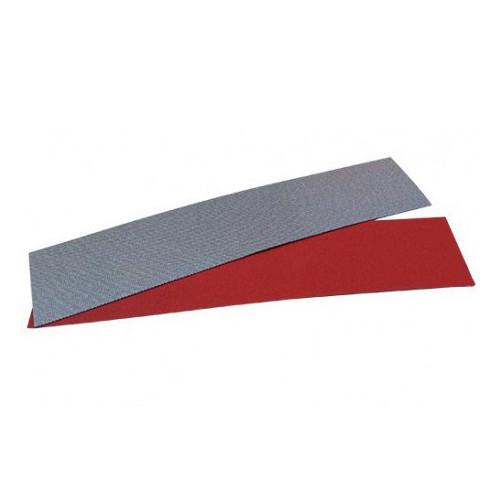 DIAMOND POLISHING ABRASIVE SHEET DIAFACE® 230x50 CANVAS RED