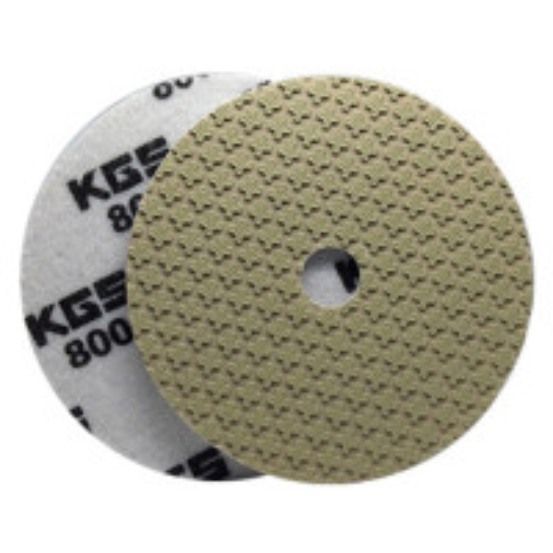 DISCO LEVIGATURA A SECCO KGS® Swiflex® XX Ø100x15 mm QRS VH-800 per GRANITO, MARMO, PIETRE NATURALI, COMPOSITI E CERAMICA