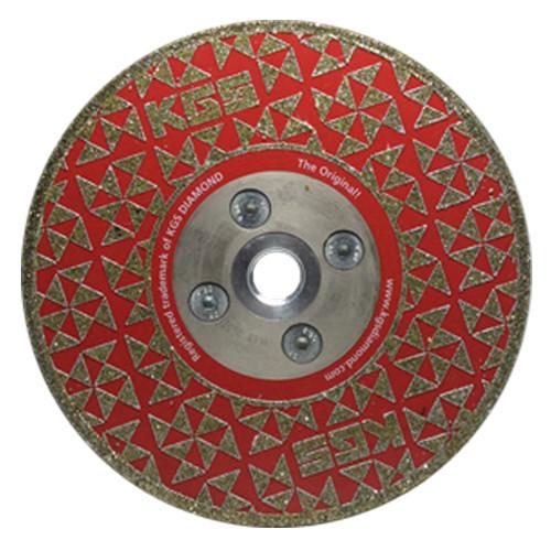5 INCH DRY CUTTING / GRINDING DIAMOND DISC Swiflex® COBRA M14 FLANGE USED ON VARIOUS STONE TYPES.