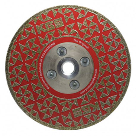 5 INCH DRY CUTTING / GRINDING DIAMOND DISC Swiflex® COBRA M14 FLANGE USED ON VARIOUS STONE TYPES.