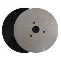 WET POLISHING PAD VELCRO® DISC DIAFACE® 100 H16 + 3F QRS BLACK FOR MARBLE - GRANITE - CERAMIC - GLASS - ENGINEERED STONE