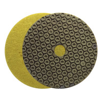 DRY AND WET POLISHING PAD Hybrid™ PRO Ø 100 H16 QRS GRIT 400 FOR COMPOSITES, CERAMICS AND NATURAL STONE