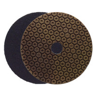 DRY AND WET POLISHING PAD Hybrid™ PRO Ø 100 H16 QRS GRIT 200 FOR COMPOSITES, CERAMICS AND NATURAL STONE