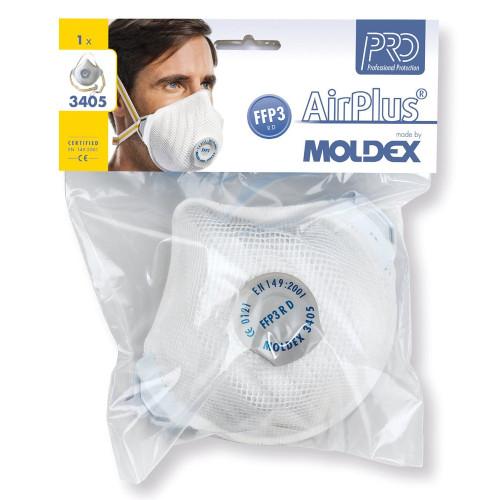 BOX 5 FFP MASKS MOLDEX 3405