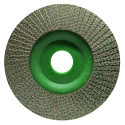 4.5 INCH KGS HYBRID® DIAMOND FLAP DISC GRIT 60 for shaping, beveling and grinding ON ALL MATERIALS