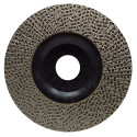 4.5 INCH KGS HYBRID® DIAMOND FLAP DISC GRIT 120 for shaping, beveling and grinding ON ALL MATERIALS