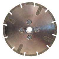 DDE-R 5 INCH DRY CUTTING BLADE FOR ANGLE GRINDERS - CUTTING MARBLE