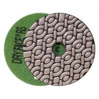 DRY DIAMOND RESIN POLISHING PAD DRYFACE® RS 100 H20 QRS GREEN