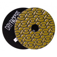 DRY DIAMOND RESIN POLISHING PAD DRYFACE® RS 100 H20 QRS BLACK
