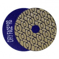 DRY DIAMOND RESIN POLISHING PAD DRYFACE® RS 100 H20 QRS BLUE