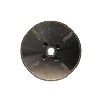"5"" INCH SORMA EDL ELECTROPLATED BLADE WITH CONTINUOUS DIAMOND RIM AND SIDE COATINGS"