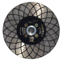 5 INCH DIAMOND CUT AND SHAPING BLADE TURBO RED™ K865 Ø100 M14 for GRANITE, ENGINEERED STONES, TILE, ABRASIVE AND SOFT STONES