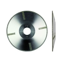 EDLC 180 SPECIAL USE DIAMOND BLADE ELECTROPLATED FOR MARBLE - CURVES CUTTING