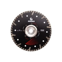 NTP 230 DRY DIAMOND CUTTING BLADE FOR ANGLE GRINDERS - CUTTING GRANITE ENGINEERED STONE